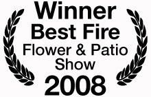 Winner Best Fire - Flower & Patio Show 2008